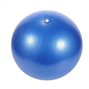 iBaste Pilatesball 25CM Gymnastikbälle Yoga Ball Robuster Sitzball Anti-Burst Pezziball und Fitnessball als Fitness Kleingeräte und Balance Stuhl