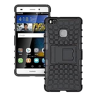 AIBULO® Huawei Ascend P9 Lite Hülle TPU Case Schutzhülle Silikon Crystal Case für Huawei Ascend P9 Lite (für Huawei Ascend P9 Lite, schwarz )