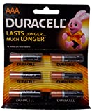 #8: Duracell Battery AAA, 6-Pieces