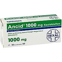 ANCID 1.000 mg Kautabletten 50 St Kautabletten preisvergleich bei billige-tabletten.eu