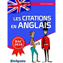 Les citations en anglais bac 2018