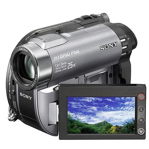 Sony DCR-DVD410 Camcorder (DVD und Flash, 8 GB, 25-fach opt. Zoom, 2,7
