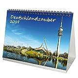 Deutschlandzauber · DIN A5 · Premium Tischkalender/Kalender 2019 · Deutschland · Stadt · Sehenswürdigkeiten · Edition Seelenzauber