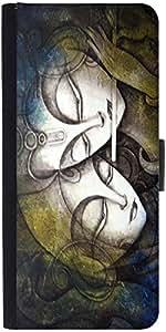Snoogg Radha Krishna Designer Protective Flip Case Cover For Samsung Galaxy S5