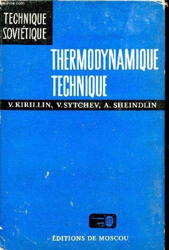 THERMODYNAMIQUE TECHNIQUE / COLLECTION TECHNIQUE SOVIETIQUE.