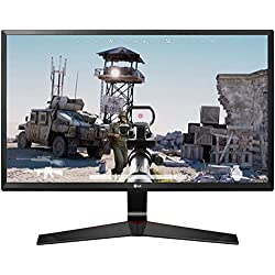 LG 24 inch Gaming Monitor - 1ms, 75Hz,Full HD, IPS Panel with VGA, HDMI, Display Port, Heaphone Ports - 24MP59G (Black)