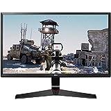 LG 24 inch Gaming Monitor - 1ms, 75Hz,Full HD, IPS Panel with VGA, HDMI, Display Port, Heaphone Ports - 24MP59G (Black)