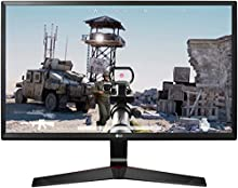 "LG 24MP59G Monitor Gaming 24"" Full HD LED IPS, 1920x1080, AMD FreeSync 75Hz, VGA, HDMI, Display Port 1.2, Uscita Audio, Multitasking, Flicker Safe, Nero"