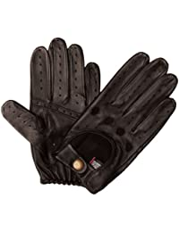 Dents Men's Leather Driving Glove Black Small