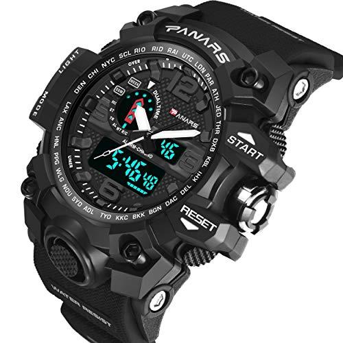 Lorenlli Sport LED Digital Watch Männer Militray Große Zifferblatt Uhren Herren Outdoor Schwimmen Taucher Wasserdichte Männliche Uhr