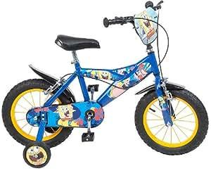 14 Zoll Fahrrad Disney Kinderfahrrad Jungenfahrrad Schwammkopf Spongebob