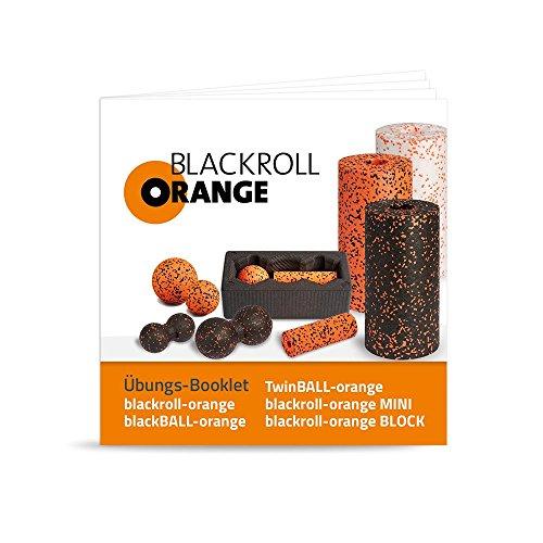 Blackroll Orange (Das Original) – DIE Selbstmassagerolle – ZUBEHÖR-SET inkl. Übungsbooklet - 4