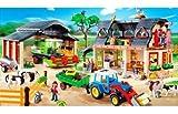 PLAYMOBIL® 4055 - Riesen Bauerhofset mit Claas Mähdrescher
