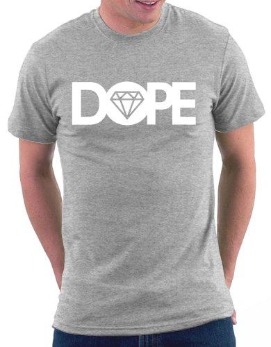 Dope Diamond T-shirt Graumeliert