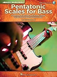Pentatonic Scales for Bass: Fingerings, Exercises and Proper Usage of the Essential Five-Note Scales (Bass Builders) by Ed Friedland (2010-04-01)