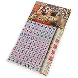 MagiDeal Mini Jeu De Mahjong Chinois Jeu de société Jouet Traditionnel Du Parti Vert Ml-001