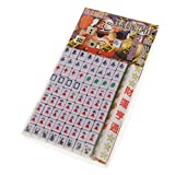 MagiDeal Mini Mahjong Game Chinese Traditional Game Gathering Party Game Green ML-001