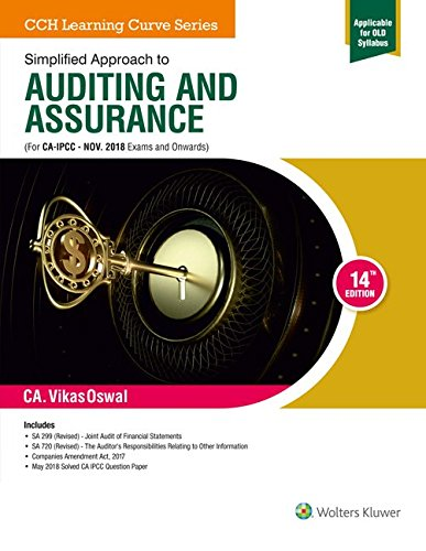 Simplified Approach to Auditing and Assurance (CA-IPCC) (Old Syllabus)