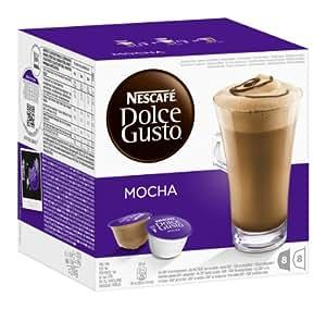 Nescafé Dolce Gusto Mocha, 3er Pack (48 Kapseln)