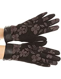 Sakkas Liya Classic Warm Driving Touch Screen Capable Stretch Gants Polaire Doublée