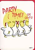 Witzige Geburtstagskarte Party Time