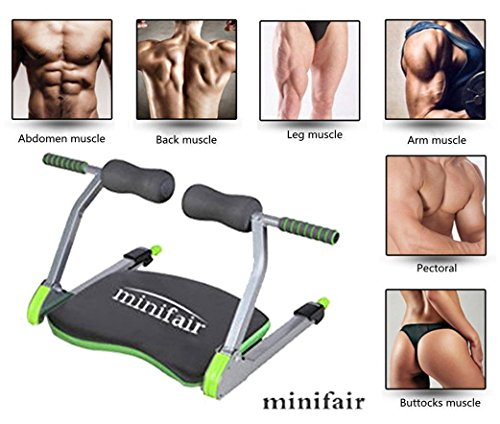Minifair® Home Gym Machine Body Ab Workout Fitness Exercise System Train Body Exercise System