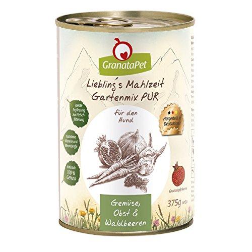Liebling's Mahlzeit Gartenmix Pur, 6er Pack (6 x 375 g)