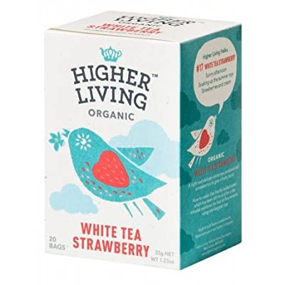 Higher Living - Thé Blanc Fraise*
