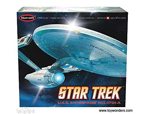 Round 2 Polar Lights - Star Trek U.S.S. Enterprise NCC-1701-A (1/350 scale model) POL808 spaceship model kit rocket by TW Kits