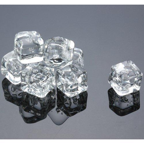 Acrylic Ice Cubes Square Shape, 2-Pound Bag