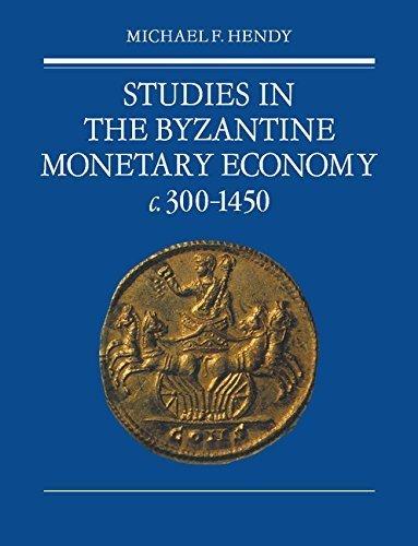Studies in the Byzantine Monetary Economy c.300-1450 by Michael F. Hendy (2008-10-30) par Michael F. Hendy