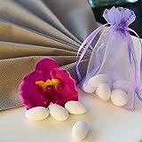 EinsSein Schokoherzen MIX 1kg weiß-rosa gl. Gastgeschenke Hochzeitsmandeln Dragees - 6
