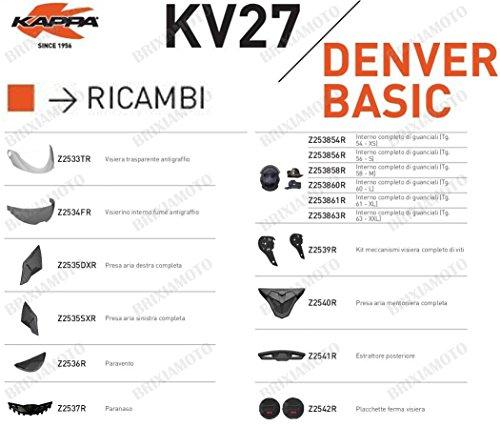 Kappa RICAMBIO Z2541R - ESTRATTORE POSTERIORE KV27