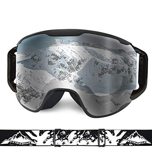 WLZP Gafas esquí,Gafas Esqui Snowboard UV400 Protección