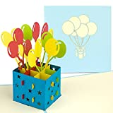 PaperCrush® Pop-Up Birthday Card with Balloons - Perfect - Best Reviews Guide