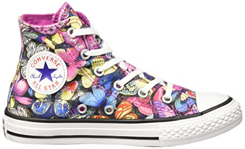 Converse - All Star Hi Canv Graphics, Sneaker alte Unisex – Bambini Multicolore