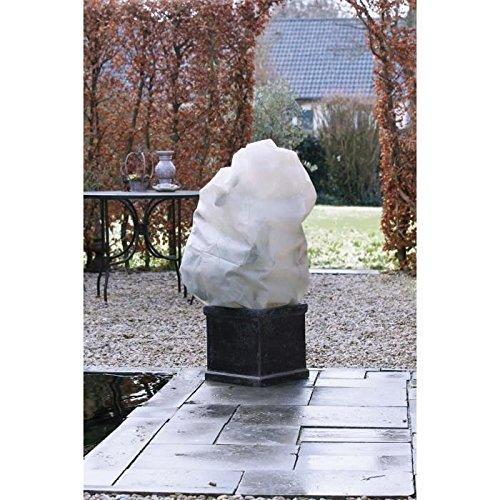 NATURE Housse d'hivernage 50 g/m² - Ø100 cm x 1,50 m - Beige