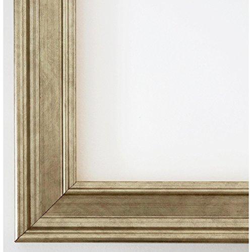 Spiegel - Silber - Barock - hier: 70 x 90 - Außenmaß inkl. Massivholzrahmen - Alle Größen - Top Qualität - Hamburg 3,5