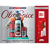 Old Spice Pure Sport Hardest Working Body Wash, Deodorant, Shampoo Conditioner NFL Gift Pack (Free Socks Included) - 4 Pc