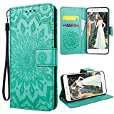 VemMore Huawei Honor 8 Case Leather Book Style Wallet Flip