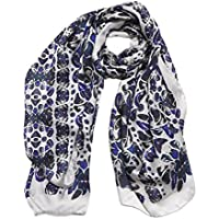 LIVELY KALEIDOSCOPE Sciarpa Fashion da Designer Lunga Stampata da Donna