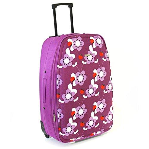 karabar-super-lightweight-expandable-suitcases-3-years-warranty-29-inch-purple-ladybirds