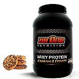 ZerOne Whey Protein Eiweißpulver | Natürliche Zutaten | hochwertiges Proteinpulver | Low Carb Eiweiß-Shake | Muskelaufbau Fitness Training | 1000g (Cookies & Cream) …