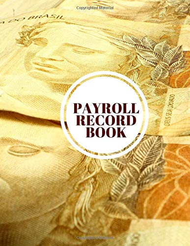 Payroll Record Book: Daily Month...