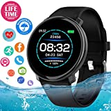 Smartwatch, Orologio Intelligente Braccialetto Fitness Activity Tracker Sportivo...