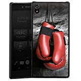 Sony Xperia Z5 Premium Hülle Case Handyhülle Boxen Boxhandschuhe Fight