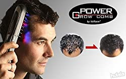A & T Power Grow Laser Comb Kit Regrow Hair Loss Therapy Cure Promotes the Appearance of New Hair with Manicure Set FHL-13281