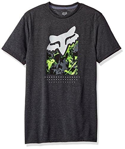 Fox T-Shirt Slasher Fill Tech Graphit meliert Schwarz