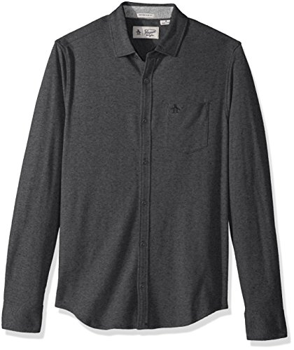 Original Penguin Men's Nep Speck Button Down Shirt