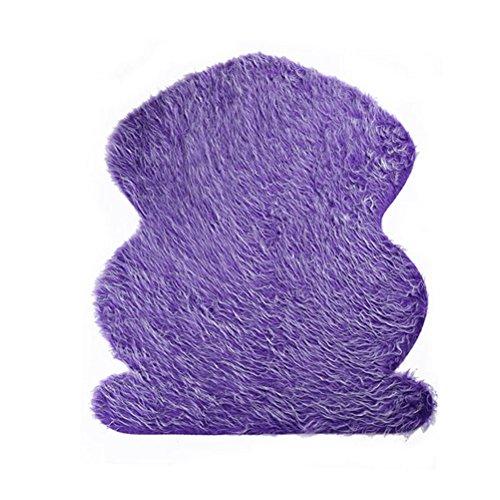 (Healifty Baby Neugeborenen Foto Requisiten Wraps Decke Fotografie Matte DIY Neugeborenen Swaddle Weiche Kunstpelz Kulissen Teppich für Baby (Lila))